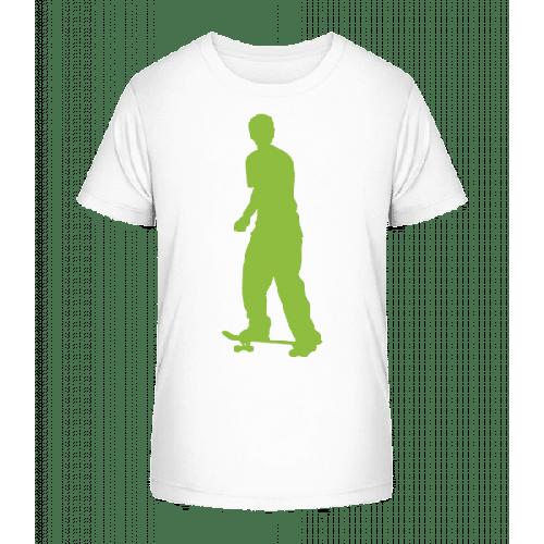Skateboarder Push - Kinder Premium Bio T-Shirt
