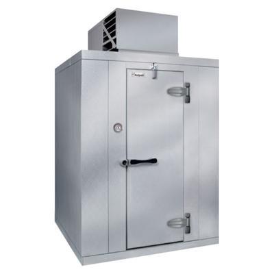 Kolpak QSX7-0610-CT Indoor Walk In Refrigerator w/ Top Mount Compressor, 9′ 8″L x 5′ 10″W x 7′ 4″H