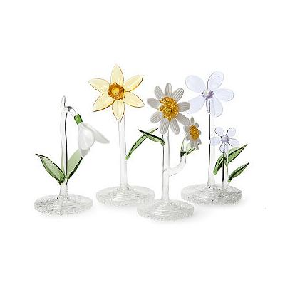 Glass Birth Month Flower
