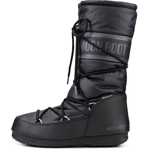 Moon Boot, Moonboots High Nylon Wp in schwarz, Boots für Damen Gr. 39