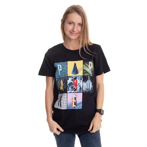 Paramore - Texture Box Grid - - T-Shirts