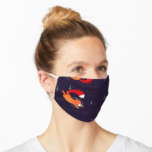 Space Foxes Rucksack Maske