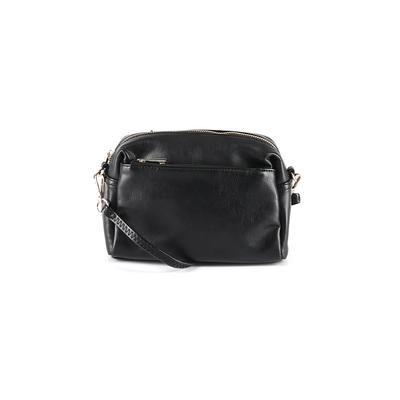 Unbranded - Crossbody Bag: Black Solid Bags