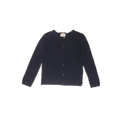 Zara Knitwear Cardigan Sweater: Blue Tops - Size 13