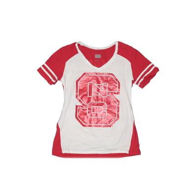 Box Seat Clothing Co. - Box Seat Clothing Co. Short Sleeve T-Shirt: Red Solid Tops - Size X-Large
