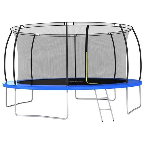 vidaXL Trampolin-Set Rund 460×80 cm 150 kg