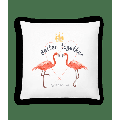 Better Together Flamingos - Kissen