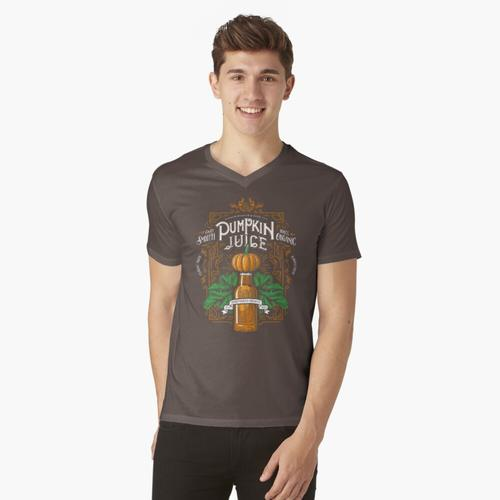 Der Saft des Kürbises t-shirt:vneck