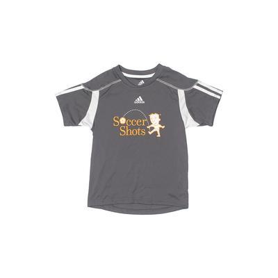 Adidas Active T-Shirt: Gray Soli...