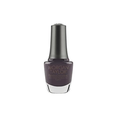 Morgan Taylor Nägel Nagellack Grey & Black Collection Nagellack Nr. 09 Black 15 ml
