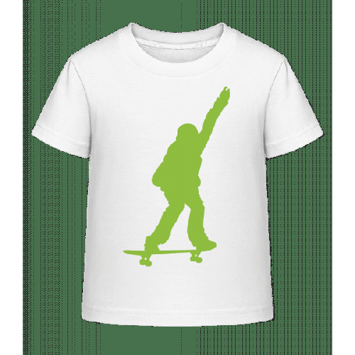 Skateboard Junge - Kinder Shirtinator T-Shirt