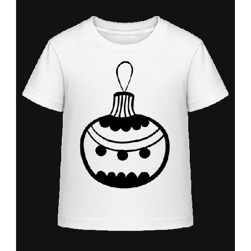 Christbaumkugel Punkte - Kinder Shirtinator T-Shirt