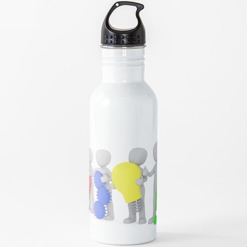 3D Minions Wasserflasche