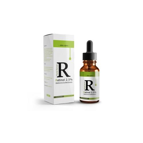 10 ml Gesichtsserum mit 2 5% Retinol und Vitamin E: 1