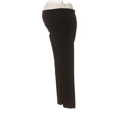 Ann Taylor LOFT Dress Pants - Low Rise: Black Bottoms - Size P Maternity