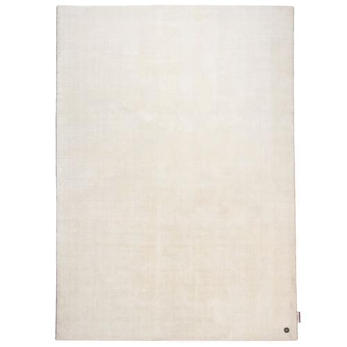 Handarbeitteppich Shine Uni Tom Tailor Weiß