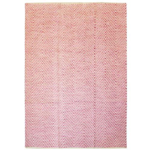 Wollteppich Dirk Kayoom Pink