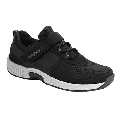 #1 Standing All Day Sneakers, Arch Support, Cushioning Sole, Women's Sneakers | OrthoFeet Footwear, Joelle,, 10.5 / Medium / Black