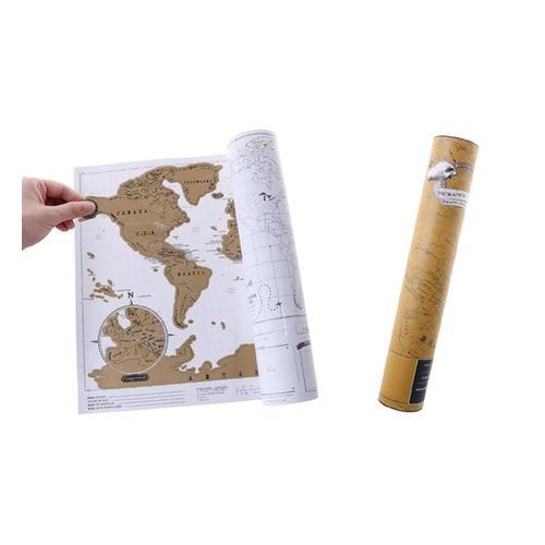 Weltkarte zum Rubbeln: 1