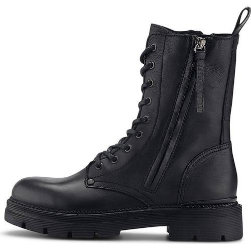 Replay, Schnür-Boots Pamela - Standing in schwarz, Boots für Damen Gr. 38