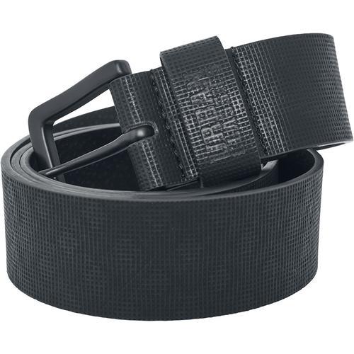 Urban Classics Fake Leather Belt Gürtel - schwarz