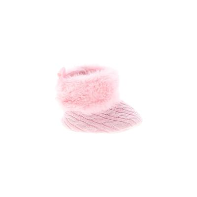 Booties: Pink...