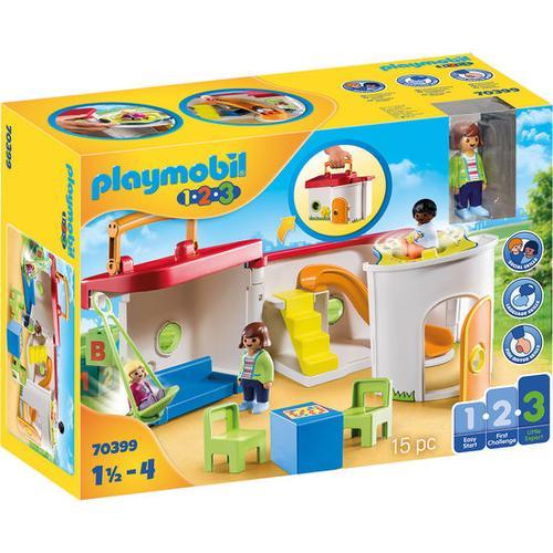 PLAYMOBIL® 1.2.3 70399 Mein Mitnehm-Kindergarten, bunt