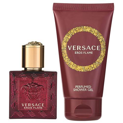 Versace Eros Flame EDP Geschenkset EDP 30 ml + 50 ml Duschgel