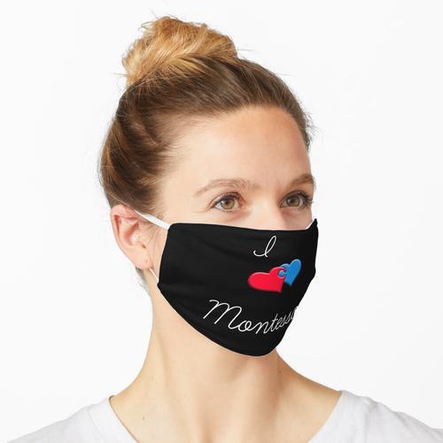 Ich liebe Montessori Maske