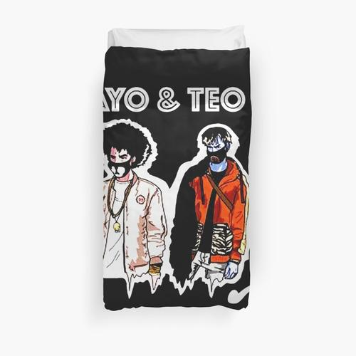ayo and teo rolex Duvet Cover
