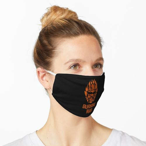 Brennender Mann Maske
