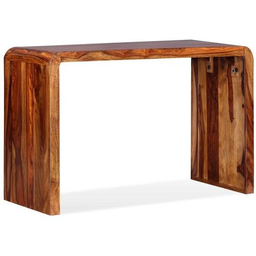 Asupermall - Sideboard/Schreibtisch Sheesham-Holz Massiv Braun