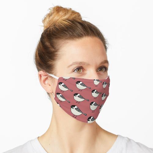 Schwarzkopfmeise Maske