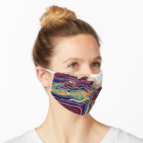 Flourite Geode Maske