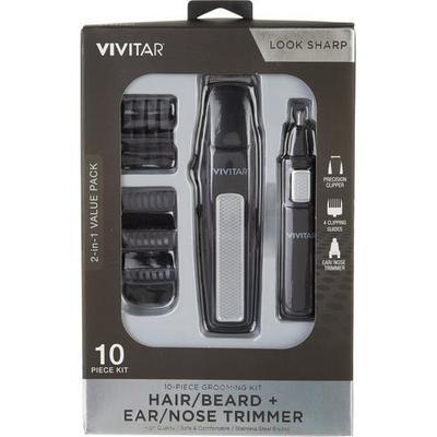 Vivitar Mens Look Sharp 10 Pc. Grooming Kit