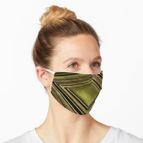 Olivfarbene Zickzacke von Iritof Maske