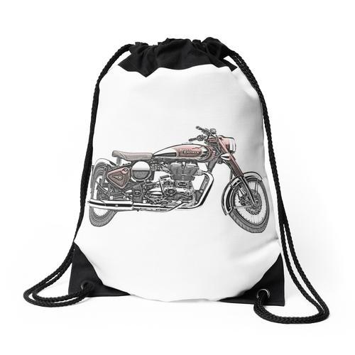 Royal Enfield Motorrad Rucksackbeutel