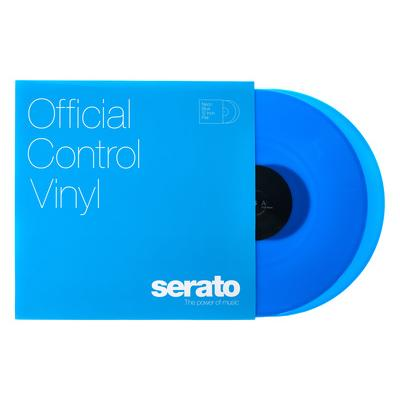 Serato Neon-Serie Vinyl Blue