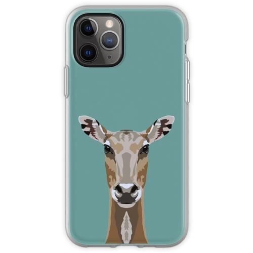 Passfoto - Nilgai Flexible Hülle für iPhone 11 Pro