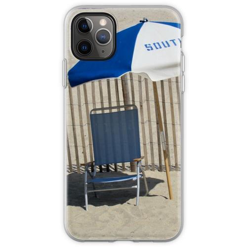 Liegestuhl und Sonnenschirm Flexible Hülle für iPhone 11 Pro Max