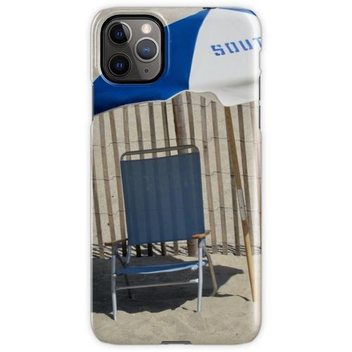 Liegestuhl und Sonnenschirm iPhone 11 Pro Max Handyhülle