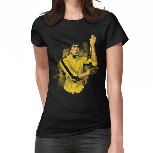 Bruce Lee gelber Anzug Frauen T-Shirt