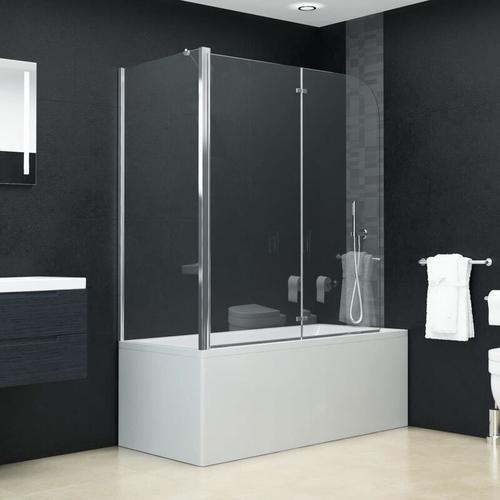 Doppelte Faltbare Duschkabine ESG Doppelte Faltbares Design 120 x 68 x 130 cm - Youthup