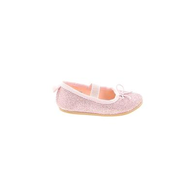 H&M Dress Shoes: Pink Solid Shoes - Size 2