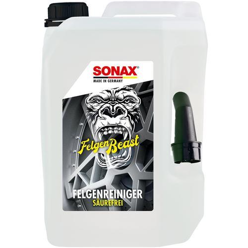 1x 5 Liter Sonax Felgenbeast Felgenreiniger Säurefrei Räder Alu Stahl Felgen