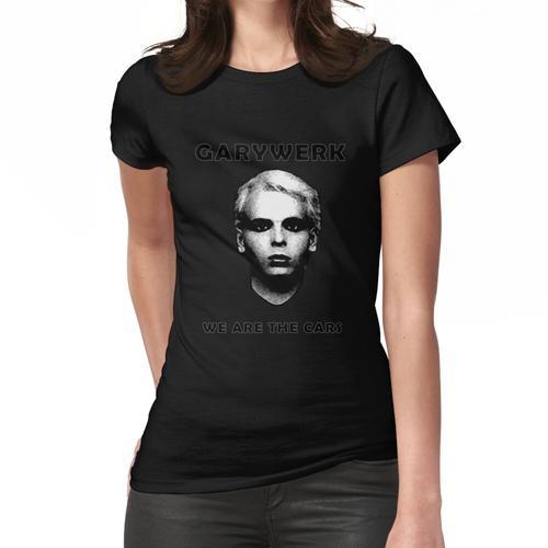 GARYWERK - wir sind die Autos (Gary Numan vs Kraftwerk) Frauen T-Shirt