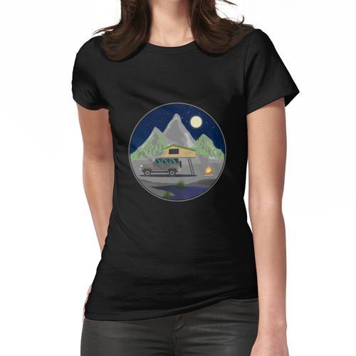 Sternenhimmel Dachzelt - Dachzelt Outdoor Geschenk für Camper Naturliebhaber Natur Frauen T-Shirt