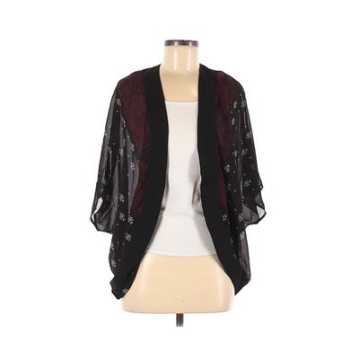 H&M Kimono: Black Tops - Size 2