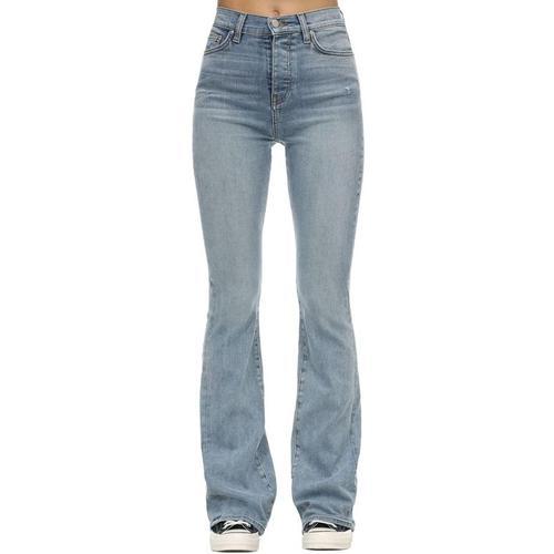 Amiri Ausgestellte Jeans Aus Stretch-denim
