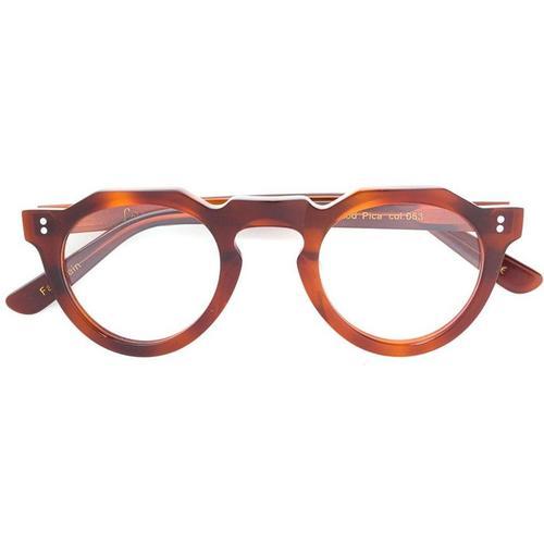Lesca Brille mit rundem Gestell